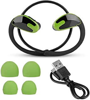 $24 » Sports Bluetooth Headphones, Noise Cancelling Headset Hands-Free Call Music Wireless Headphones with 12mm Large Moving Coil(Green)