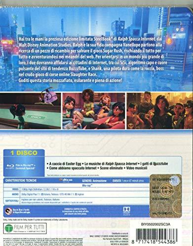 ralph spacca internet steelbook ( Blu Ray)