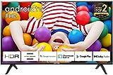 TCL 40ES561, Smart Android TV 40 pollici. Risoluzione HDR, Assistente Google...