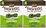 Merrick Fresh Kisses Coconut Oil Double-Brush Dental Treats - X-Small 78 Count - Pack of 2