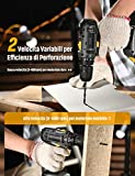 Immagine 2 avvitatore a batteria 20v topelek