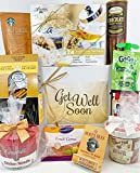 Gourmet Get Well Gift Box Basket - For Cold Flu Illness Surgery Injury- Over 3.5 Pounds of Care,...