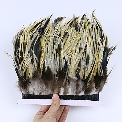 Cishop 2 5 10 Meter Natural Trim Pheasant Chick Rooster Feathers sold Milwaukee Mall out