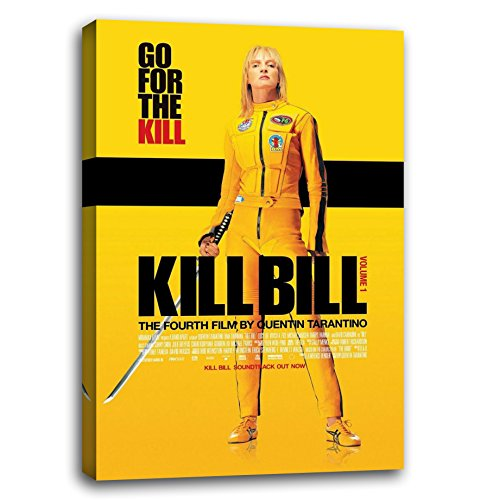 RuidoRosa Cuadro Lienzo Poster de la película Kill Bill (60x40)
