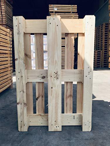 Euro Palé EPAL - Palet de Madera 1200x800x144 mm 11 tablas 9 tacos 78 clavos (Nuevo) Muebles y Chill Out Venta Unidades Sueltas