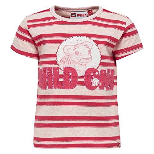 Lego Wear Duplo TIA 304-T-SHIRT T-Shirt, Rouge (Coral Red 315), 18 Mois Bébé garçon