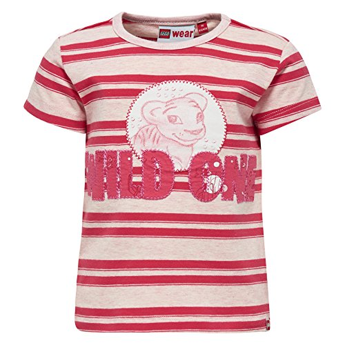 Lego Wear Lego Duplo Girl TIA 304-T-SHIRT T-Shirt, Rot (Rot (Coral Red 315) 315), 18 Mois Bébé Fille