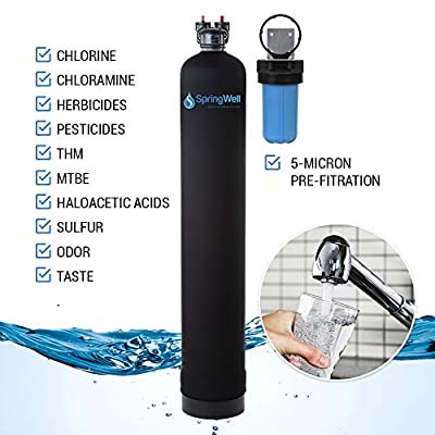 SpringWell Whole House Water Filter System Neoprene