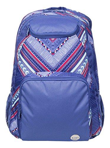 ROXY Womens Shadow Swell Backpack Purple AX Vertical Arrow Combo Chambr Size:45.5 x 33 x...
