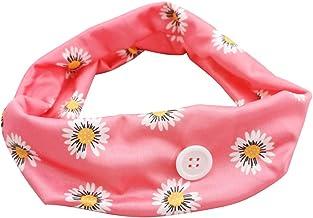 Andoer Bandanas de cabelo femininas Bandas de cabelo para exercícios de fitness e ioga. Bandana de cabelo elástica para mu...