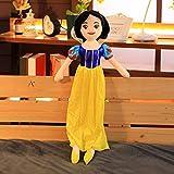 Juguetes de peluche Blancanieves princesa de peluche de juguete de peluche de princesa de dibujos animados de peluche de juguete para niños regalo 60cm