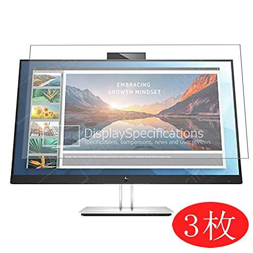 VacFun 3 Piezas HD Claro Protector de Pantalla Compatible con HP E27d QHD 27' Display Monitor, Screen Protector Sin Burbujas Película Protectora (Not Cristal Templado) New Version