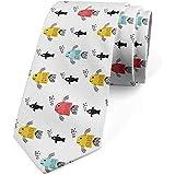 Cravatta, Pesce Con Bolle Sottomarino, Corallo Giallo Terra