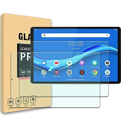 YISPIRIN Protector de pantalla para Lenovo Tab M10 HD Gen 2 10,3 pulgadas, dureza 9H, antiarañazos, sin burbujas, protector de pantalla HD para Lenovo Tab M10 Gen 2