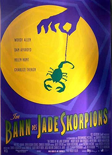 Im Bann des Jade Skorpions - Woody Allen - Filmposter A1 84x60cm gerollt