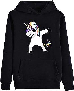 Felpa con Cappuccio DONNA I Am A F****** Unicorn unicorni