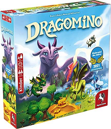 Pegasus Spiele 57111G - Dragomino *Kinderspiel des Jahres 2021*