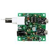 Módulo electrónico DIY de radio de onda corta 40M CW kit de transmisor receptor 5 x 7.023-7.026MHz Equipo electrónico de alta precisión