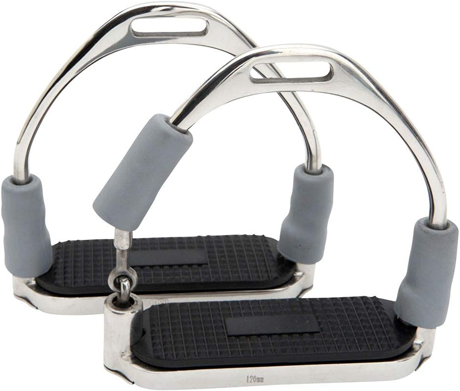 Horka Fillis Shock Absorbing Stirrups 12 Cm Pony Horse Stable Riding Accessories