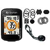 【お得な2商品セット】 BRYTON(ブライトン) RIDER 15 C (ライダー 15 C) GPS サイクルコンピューター (ケイデンスセンサー付) + アルミ製 アウトフロントマウント