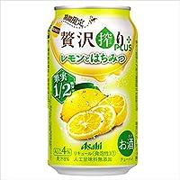 アサヒ 贅沢搾りプラス レモンとはちみつ350ml缶24本入りケース