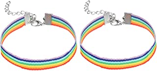 Mejor Pulsera De Tela Orgullo Gay de 2020 - Mejor valorados y revisados