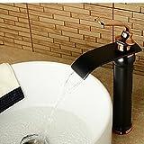 Mai feini in ottone massiccio cascata bagno rubinetto lavabo rubinetto Rose Golden tocca tocca Viso