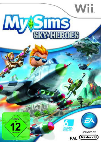 My Sims Sky Heroes Wii [import allemand]