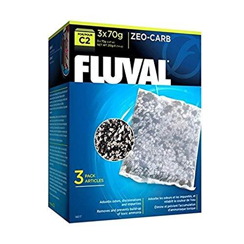 Fluval Schwamm für die Filtration Mechanische Zeo Carb für Filter C2