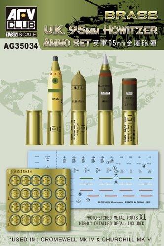 1/35 de l'arm?e britannique 95mm Howitzer coquilles m?dicaments mis (japon importation)