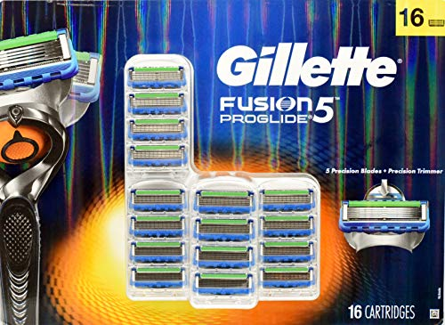 Price comparison product image Gillette Fusion 5 ProGlide Precision Trimmer - Precision Trimmer + 5 Precision Blades +16 Cartridges