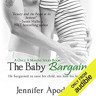 The Baby Bargain                   By:                                                                                                                                 Jennifer Apodaca                               Narrated by:                                                                                                                                 Ryan Hudson                      Length: 5 hrs and 40 mins     62 ratings     Overall 4.0