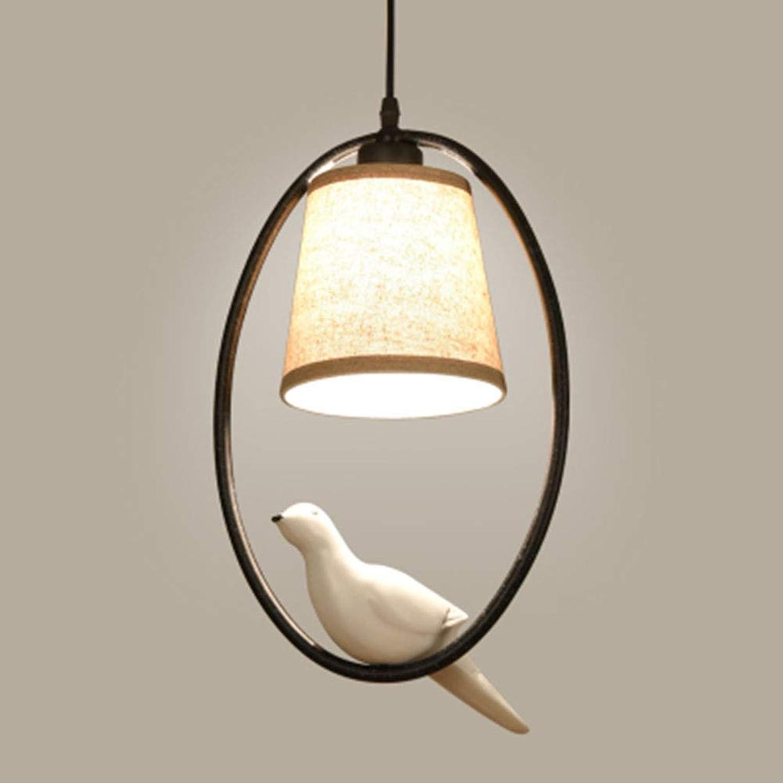 WENYAO Nordic Chandelier Bird Lights, einfache Moderne Wandlüster im amerikanischen Restaurant Chandelier [Energy Level A +]