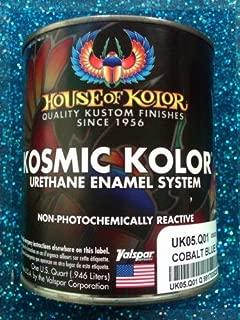 House of Kolor UK05 Kandy Cobalt Blue Kosmic Kolor 1 Quart