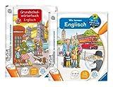 tiptoi Grundschulwörterbuch Englisch und Wir lernen Englisch - Set - 9120055082637