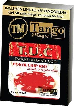 Tango Magic Ficha de Poker T.U.C (Color roja + Enlace Vidéo)