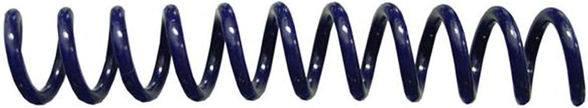Spiral Binding Coils 6mm (¼ x 12) 4:1 [pk of 100] Navy Blue (PMS 289 C or 282 C)