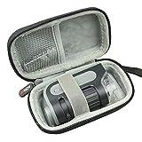 AONKE Duro Estuche Viajes Funda Bolso para Carson MicroBrite Plus - Microscopio de bolsillo, aumento 60x-120x, con Iluminación LED