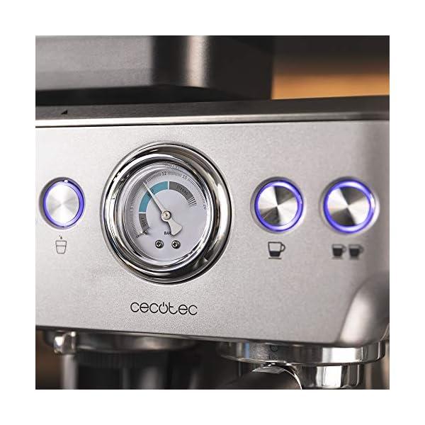Cecotec Cafetera Cumbia Power Espresso 20 Barista Aromax. Potencia 2900