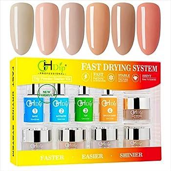 GHDIP Acrylic Nail Dip Powder Kit (6-Colors)