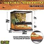 Exoterra Terrarium en Verre pour Reptiles et Amphibiens 30 x 30 x 30 cm #1