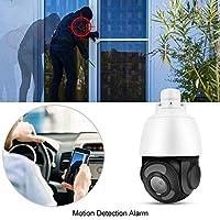 【クリスマスギフト】フルHD 1080PホームWiFiカメラ、5MPスーパーHD CCTVセキュリティドームカメラ、30X光学ズーム4-in-1 AHD/TVI/CVI/CVBS PAL、ホームベビーペット用(私たち)