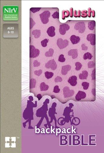 NIrV, Plush Backpack Bible, Hardcover, Purple