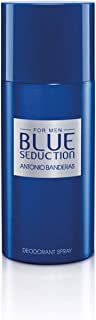 Antonio Banderas Blue Seduction Deodorant Spray For Men, 150ml