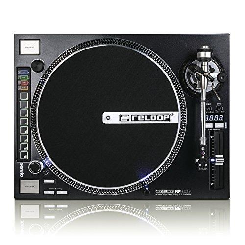 Reloop RP-8000 STRAIGHT giradischi per DJ Direct drive DJ turntable Nero