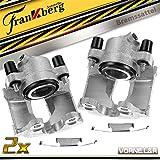 2x pinzas de freno sin soporte delantero izquierdo derecho para 3er E36 E46 316-328 Z3 Z4 E36 E85 1990-2007 34116758113