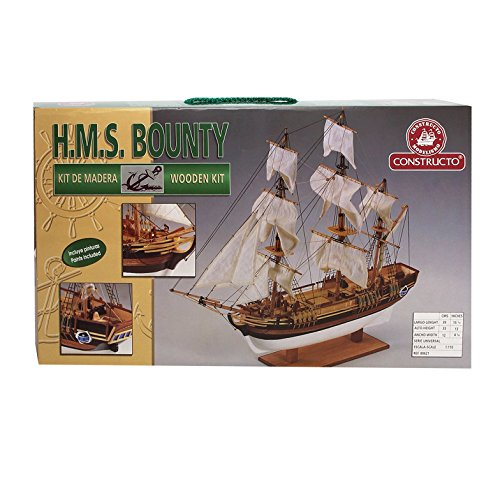Diset 80621 - H.M.S. Bounty 1:110 , color/modelo surtido