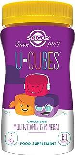 Solgar U-Cubes Vitaminas y Minerales. 60 gominolas - 60 Unidades