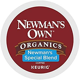 Newman's Own Special Blend Coffee Single-Serve K-Cups, 80 Count (Packaging May Vary)