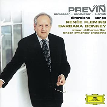 Previn: Diversions / Songs